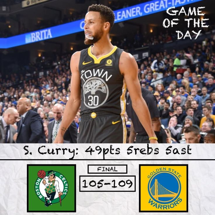 Game of the Day: Celtics vs Warriors. Will the Celtics make the NBA Finals? Comment and Read Below  .-.-.-.-.-.-. Damn Steph cool down. This game was a fell fought game by the Celtics but honestly this was the best they could hope to do against the Warriors. Yeah Kyrie was great but Kyrie isnt great every single night. Yes Jayson Tatum is a slump but Jayson Tatum isnt going to make a difference in a 7 game series against them. Everyone saying this was an NBA Finals preview is wrong. Klay…