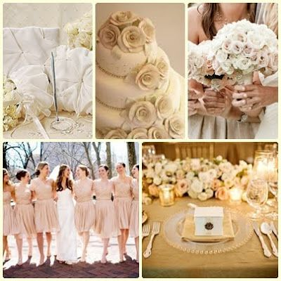 neutral wedding colours - Google Search