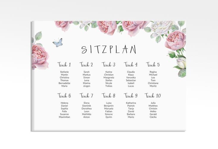 Sitzplan Leinwand Hochzeit Primavera 70 X 50 Cm Leinwand Karte Hochzeit Leinwand Hochzeit Sitzplan Hochzeit