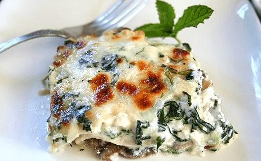 "This Spinach Mushroom Lasagna recipe have had some changes that you will love giving thanks to protein from cheese; fiber, vitamins and carbs from Brown rice pasta and mushrooms not to talk about ""I am oh so good for you"" spinach. Enjoy!"