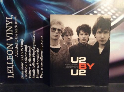 U2 by U2 Hardcover Book Excellent U2-0007196687 Books, Comics & Magazines:Non-Fiction:Biographies & True Stories