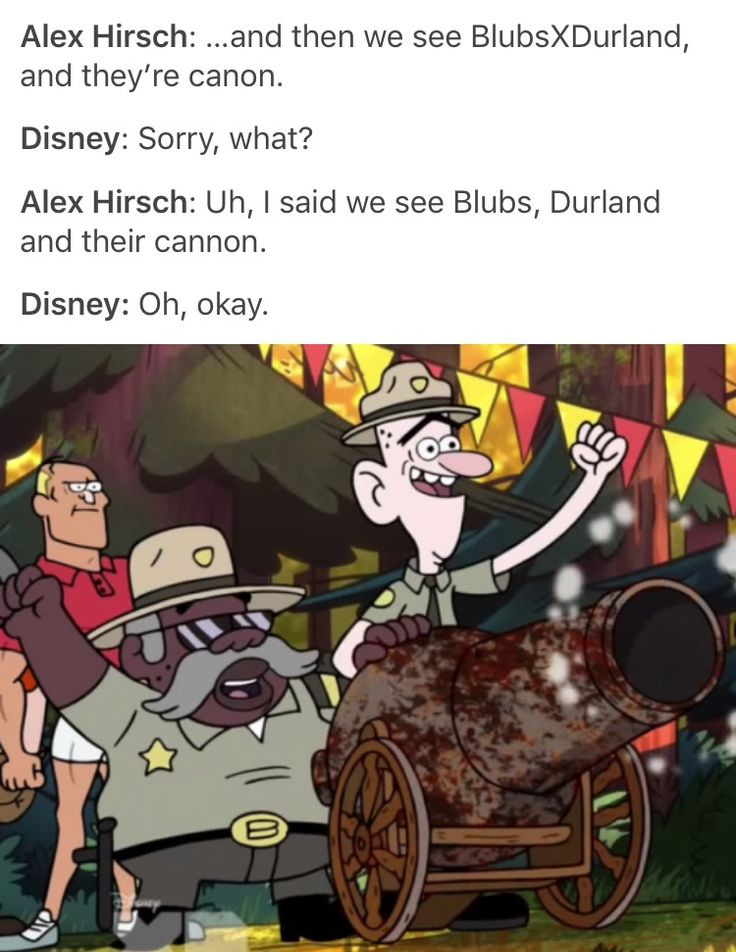 Blubs, Durland, and their cannon?