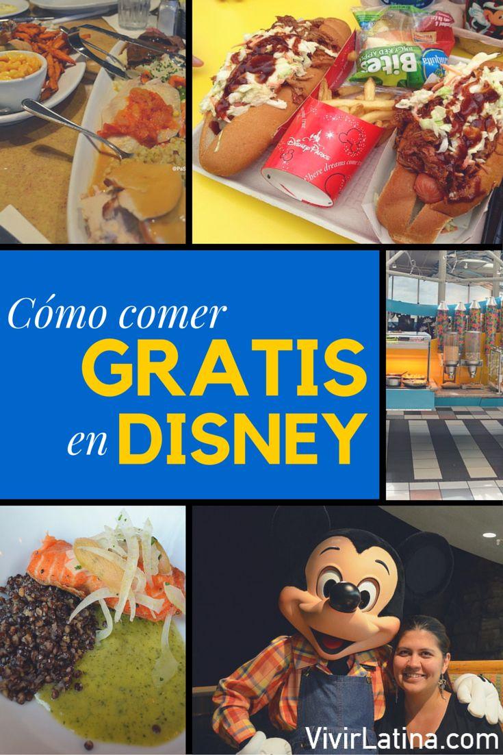 Te contamos aquí uno de los secretos de Disney. Averigua aquí como puedes comer GRATIS en Walt Disney World. Tus vacaciones serán diferentes.