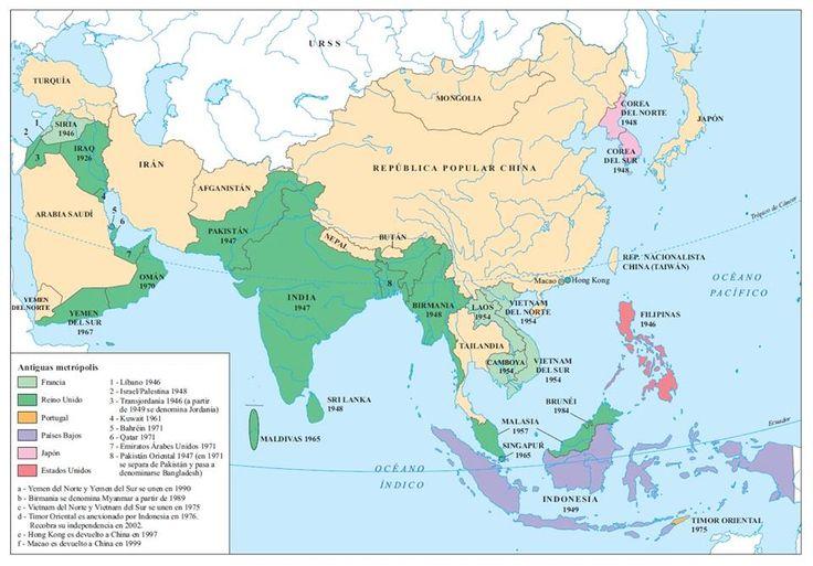 24. La descolonización de Asia