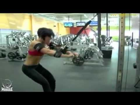 ISOLATOR BACK TRAINING VIDEO WITH DANA LINN BAILEY and DAVE PALUMBO of RXMUSCLE.COM - YouTube