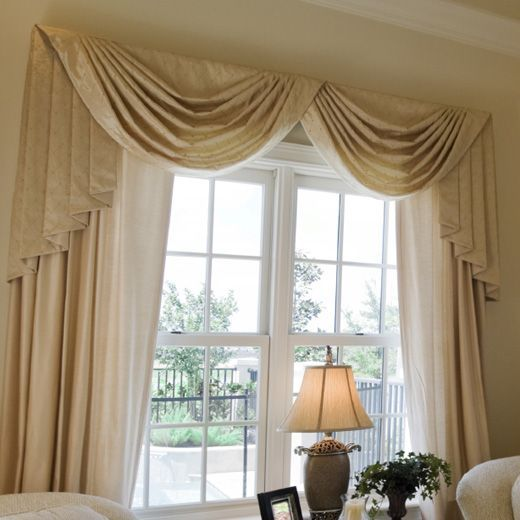 Swag Curtains Valances For Living Room, Swag Curtains For Living Room