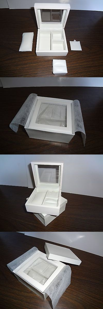 Other Wholesale Body Jewelry 51011: Wholesale Case Lot 60 Small White Jewelry Boxes 4 X 4 X 2 New Free Shipping -> BUY IT NOW ONLY: $115.0 on eBay!