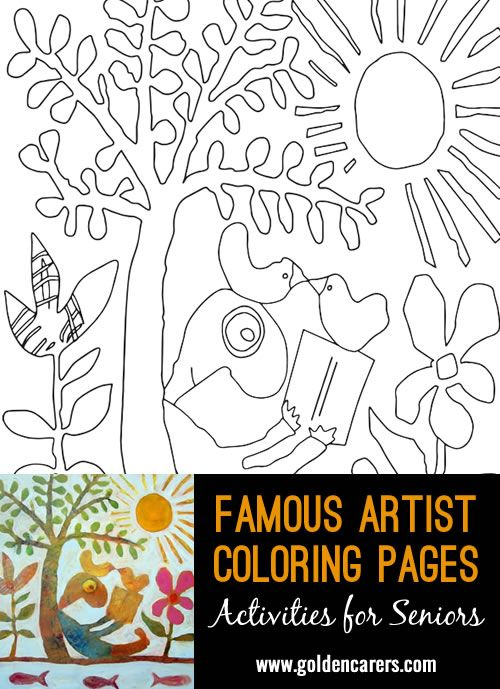 Artist Impression - Leunig - 1 | Coloring pages, Coloring ...