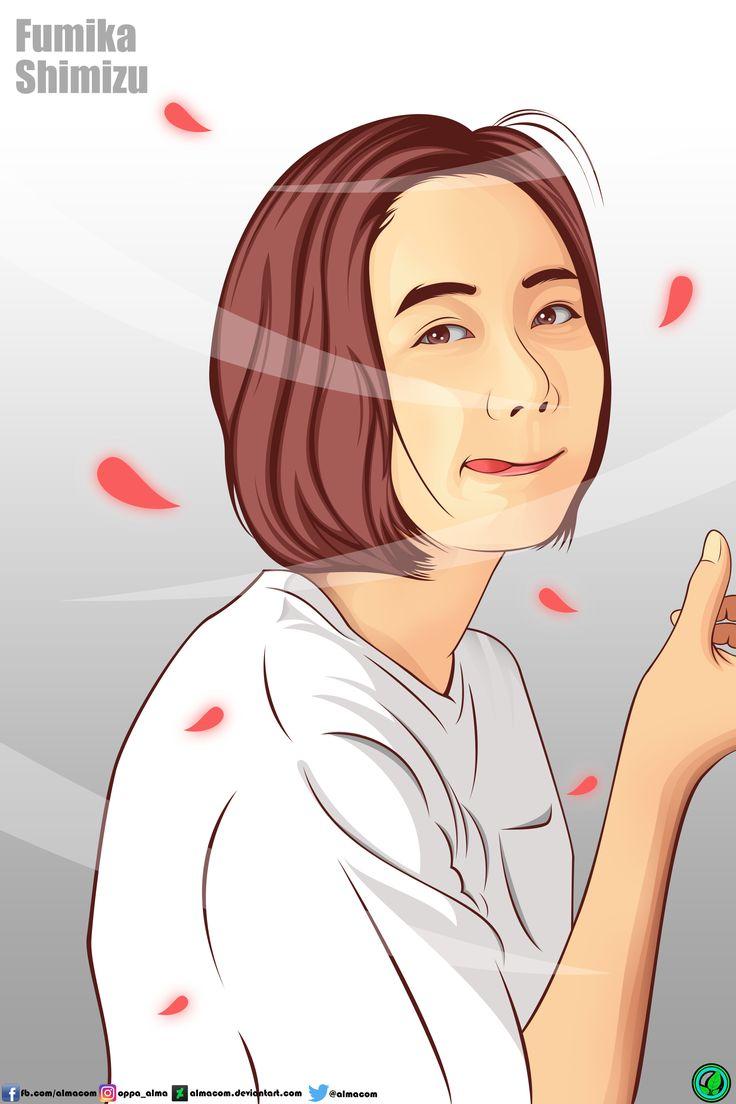 Fumika Shimizu in Vexel Potrait