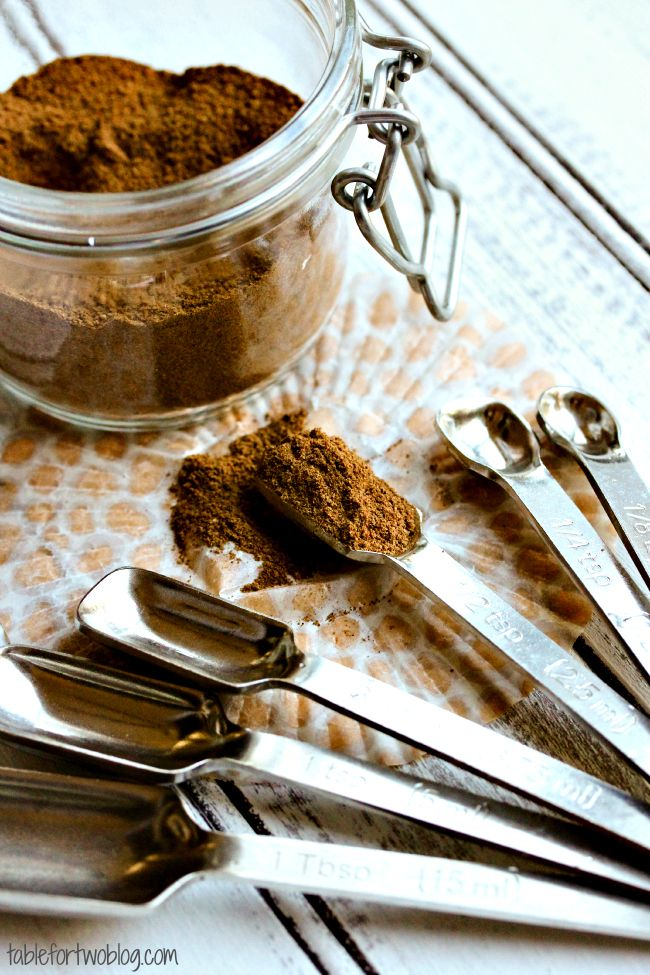 DIY Pumpkin Pie Spice - Table for Two