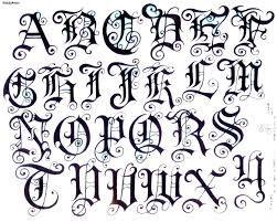 Resultado de imagen para letra gotica