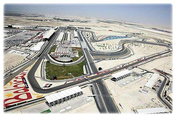 Bahrain Grand Prix - Aerial View