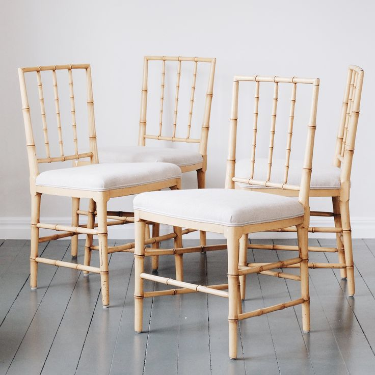 beautiful set of 4 gustavian dining chairs from swedish furniture specialist daniel larsson on the dc