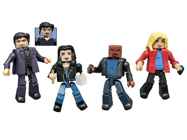 Jessica Jones Minimates Box Set Series 01 - Jessica Jones (TV Show) Figures