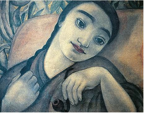 Anita Rée (German 1885-1933), Filomena Stupefatta, 1926. Collection of Maike Bruhns (private).