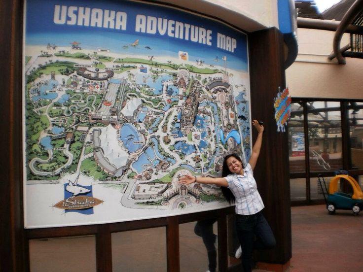 2011 UShaka Marine World Map. Durban, South Africa