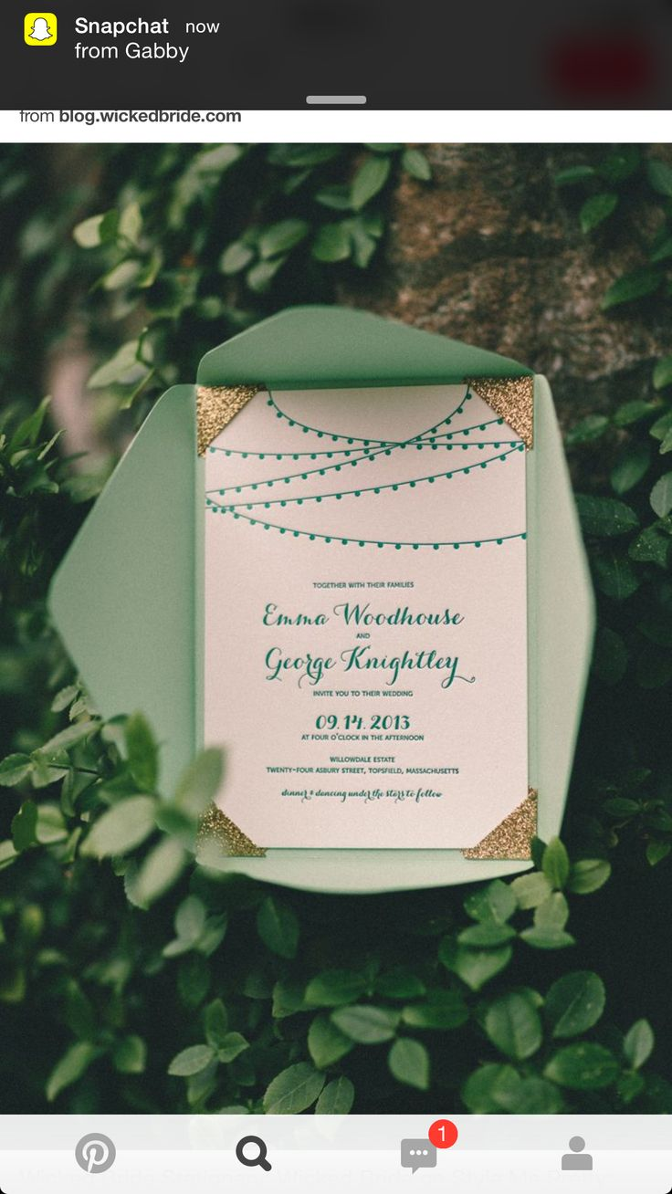 navy blue and kelly green wedding invitations%0A Wedding Jewelry Wicked Bride Stationery  Wicked Bride on Style Me Pretty   Willowdale Estate Do you like gemstone
