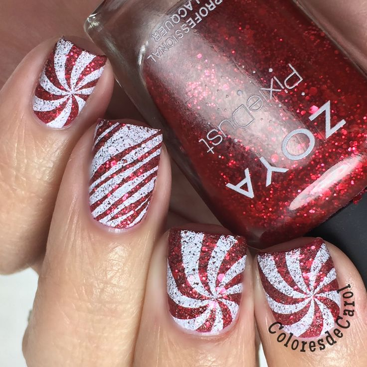 Colores de Carol: Candy Cane anyone?