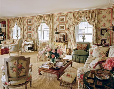 Decor Interior Living Rooms Shabby Chic English Country Mark