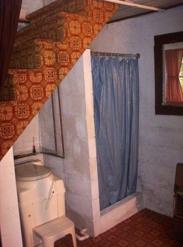 Shower U0026 Toilet Under The Stairs. Photo By Georgan Gregg. Basement  RemodelingBasement IdeasBathroom ...