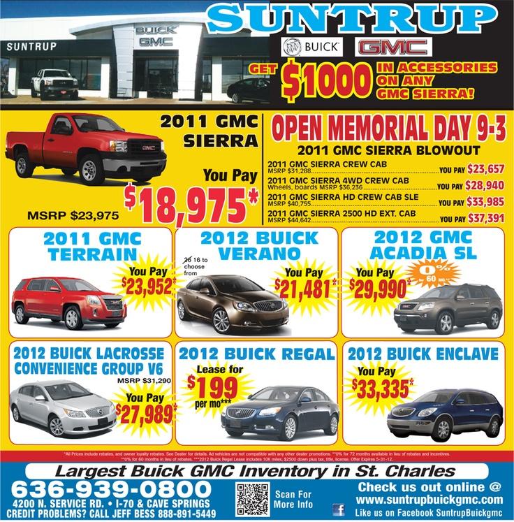 St Louis Gmc Dealers: 64 Best Images About Suntrup Buick GMC Local On Pinterest