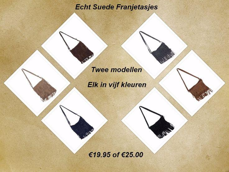 Yeah! De franjetassen staan nu ook online! Nu keuzes maken. Welk model? Welke kleur?