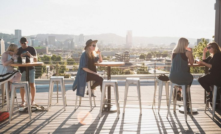 Let's be honest: Portland's rooftop bar scene has been a little lackluster. Which brings us to Revolution Hall's Roof Deck, the newly opened rooftop bar sitting atop the former Washington High School in the Buckman neighborhood.