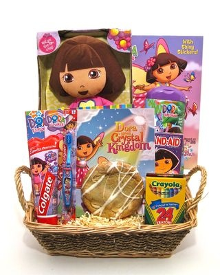 Dora Basket Toys And Things For The Princess Pinterest