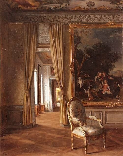1800s Drawing Room