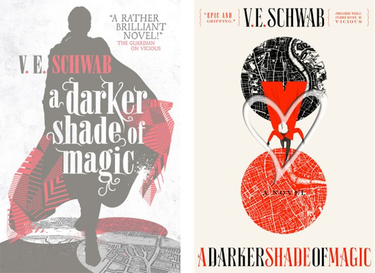 Books by Proxy | The Friday Face-Off  - A Darker Shade of Magic by V.E. Schwab -  US wins!