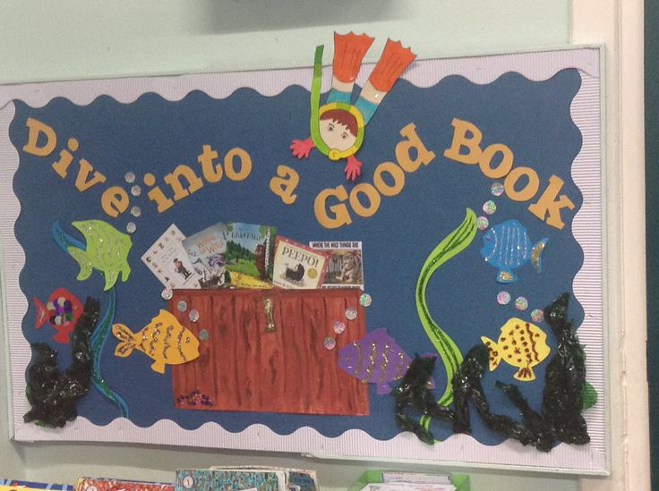 Reading corner display