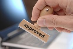 Tendering for contracts: approved stamp