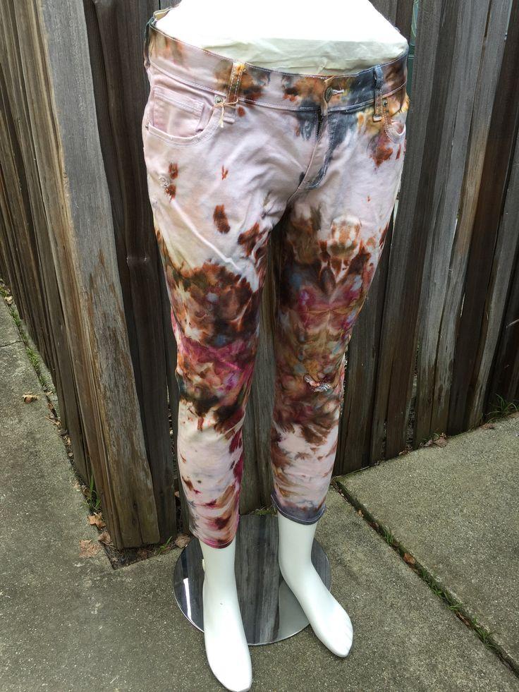 Sedona Shibori Tie Dye Jeans by Sage Luxury