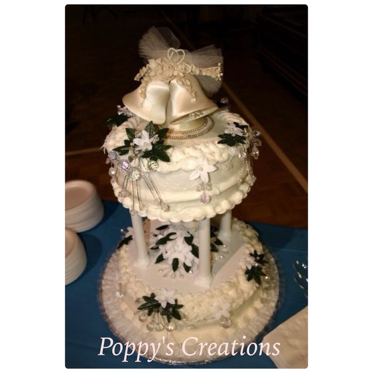 Cake Ideas For 45th Wedding Anniversary : Poppy s Creations, My aunt and uncle s 45th wedding ...