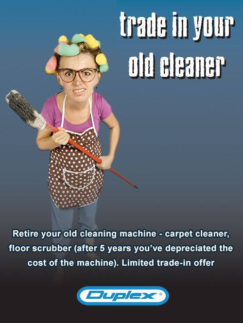 Trade-in your old Duplex floor cleaner and save hundreds on a brand new machine http://bit.ly/2nFwf7G