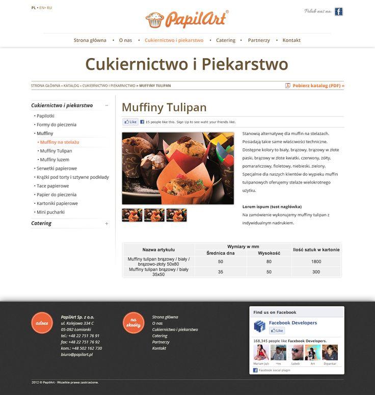 Strona główna firmy PapilArt.