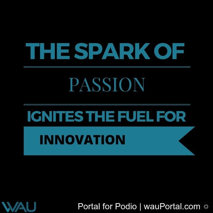 Passion is power! #automation  #innovation  #technology  #wausolutions