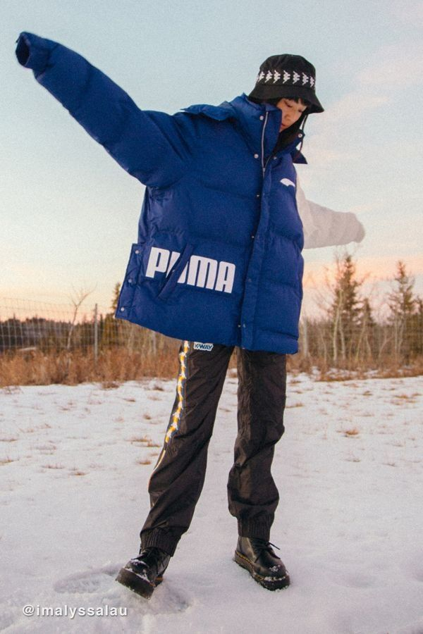 37843c1b40be Puma X Ader Error Oversized Colorblock Puffer Jacket