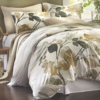 ... printed and woven watercolor-inspired floral cover and matching shams. Reverses to a light green. Haruko Duvet Set from Country Door. & 33 best Wonderful Window Treatments by Country Door images on ... Pezcame.Com