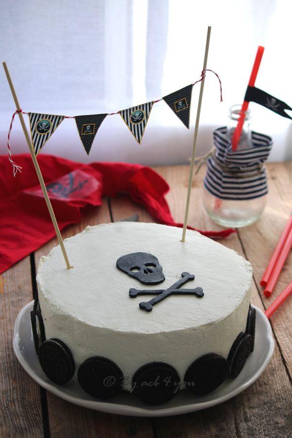 Le week-end dernier nous avons vu débarquer à la maison 5 petits pirates à l'occasion de la fête d'anniversaire de mister R. Après Star wars pour ses 6 ans, il a souhaité un thème Pirates des Caraïbes. Nous étions bien imprégnés de cet univers car il...