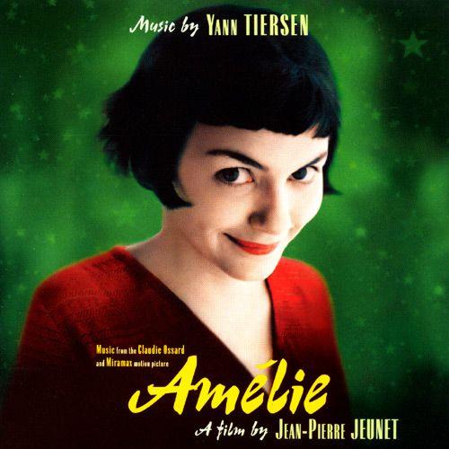 Amelie Amelie. Una de las películas mas exitosas de finales de los 90's y que catapulto a Audrey Tatou al estrellato.