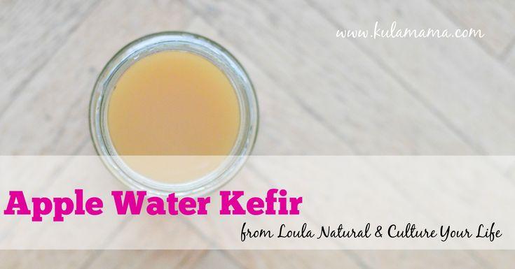 Apple Water Kefir www.kulamama.com