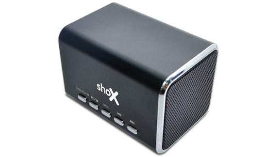 The shoX Boom Box
