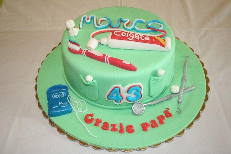 Cake Design Dentista : #Torta dentista #Dentist cake # Tortas Pinterest ...
