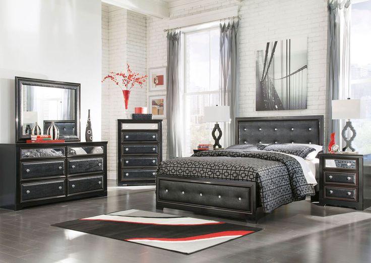 ashley furniture b364 alamadyre modern queen or king panel bed frame bedroom set home - Ashley Furniture Bed Frames