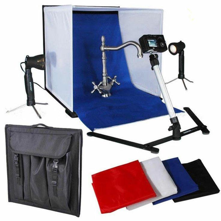 50CM Photography Softbox Lighting Kit Studio Light Tent Table Shoot Cube Box Kit  sc 1 st  Pinterest & Best 25+ Softbox lighting kit ideas on Pinterest   Softbox ...
