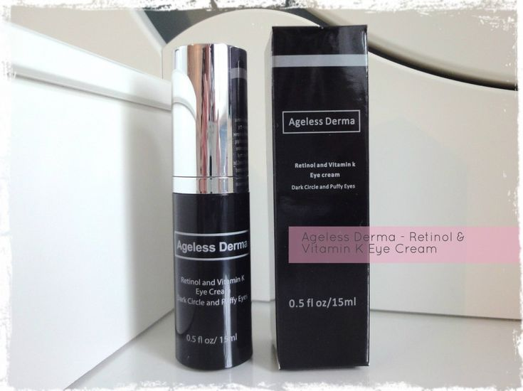 Ageless Derma Eye Cream Review