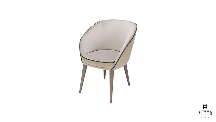 Modern dining chair . Dining room decor NÉROLI Dining chair ©Altto #altto #diningchair #livingroom #modern #urban #cosmopolitan #trend #fresh #interiordesign #furniture