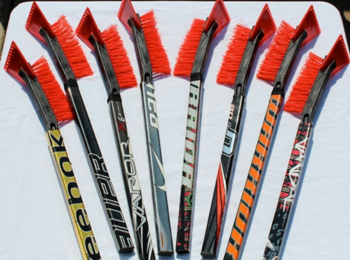 how to make a hockey stick rafter