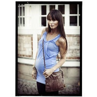 Naomi top- Powder blue